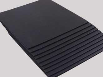 black aluminum sheet