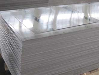 white aluminum sheet