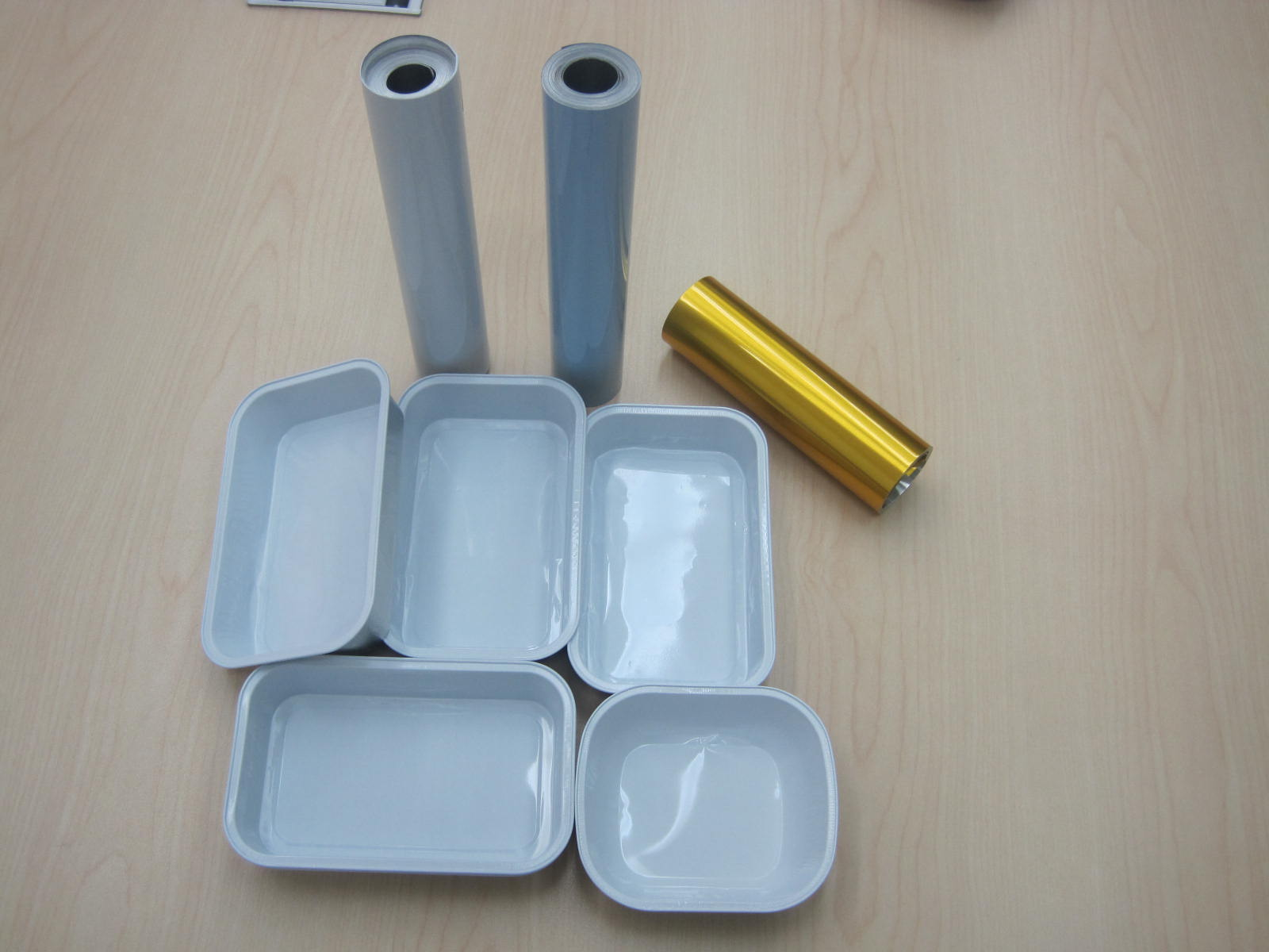 Aluminium Container Foil/Pre-lubricated Container Foil
