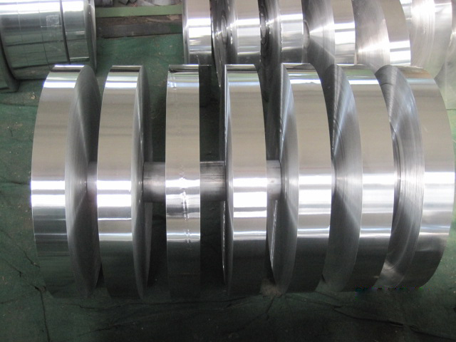 Aluminium strip for Semi-rigid aluminium flexible duct (PEX-AL-PEX)