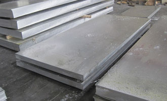 Hot rolled aluminum plate