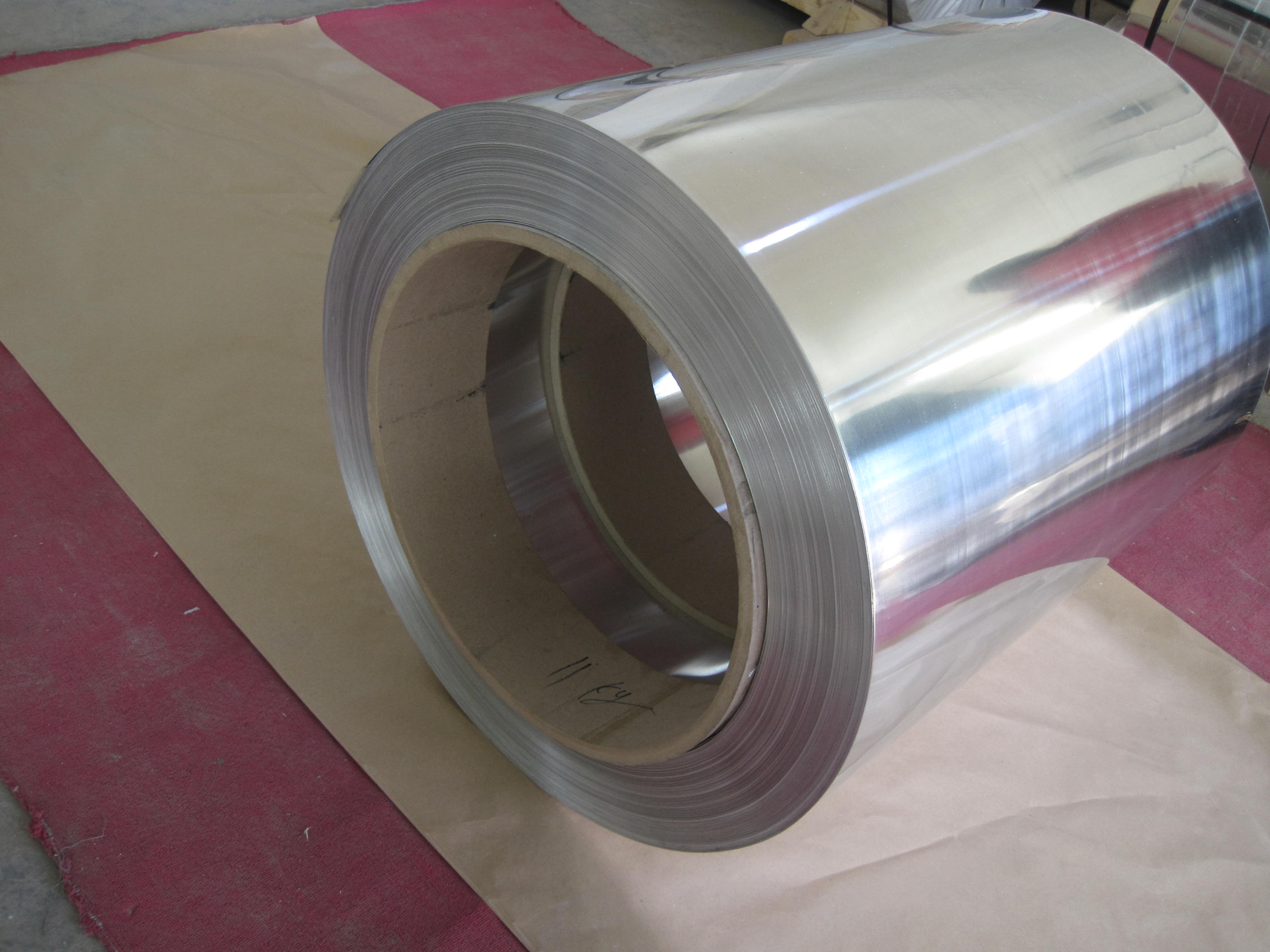 Aluminium strip for transformer
