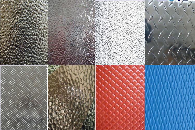 Aluminium Roof Texture